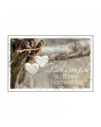 Naturelle 7-013 Glückwünsche zu Eurem Hochzeitstag