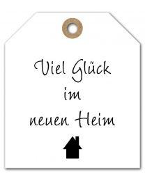 Black & White mini DE 12 Viel Glück im neuen Heim