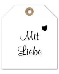 Black & White mini DE 16 Mit Liebe