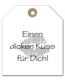 Black & White mini DE 30 Einen dicken Kuss für Dich!