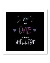 SOHO Vierkant 07 One in a million