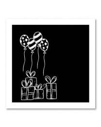 SOHO Vierkant 12 Balloons/presents