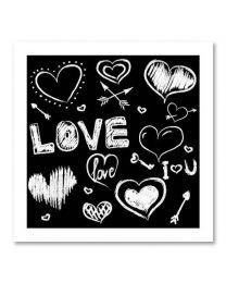SOHO Vierkant 14 Love